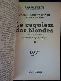 le requiem des blondes signed book edition originale com