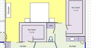 his an her bathroom layout google search home plans pinterest