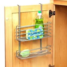 kitchen cabinet door organizers inside door storage over door rack storage kitchen kitchen cabinet