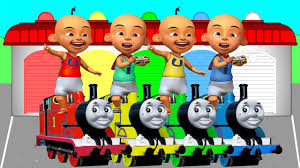 Upin Ipin The And Upin Ipin Learn Colors And Numbers