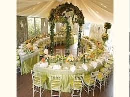 creative of themed wedding reception gold decor for wedding