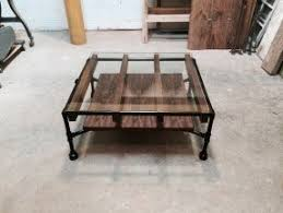Pipe Coffee Table by Glass And Steel Coffee Table Foter