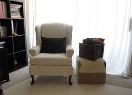wing chair slipcover animal print chair covers wing chair hastac