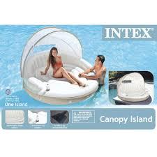 Island Canopy by Amazon Com Intex Canopy Island Inflatable Lounge 78