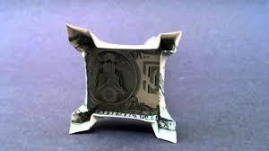 eiffel tower money origami dollar bill art youtube