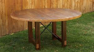 Creative Wooden Dining Table Interesting Round Reclaimed Wood Dining Table All Dining Room
