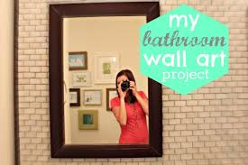 bathroom wall art u2026easy and free