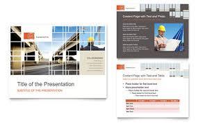 civil engineers powerpoint presentation template design