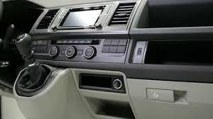 volkswagen caravelle interior 2016 vw t6 interiér motor youtube
