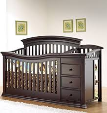 4 In 1 Baby Crib With Changing Table Sorelle Verona 4 In 1 Convertible Crib And Changer