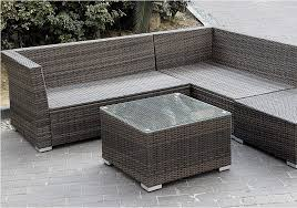 Wicker Sectional Patio Furniture by Giantex 6pc Patio Sectional Furniture Pe Wicker Rattan Sofa Set