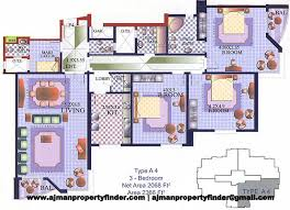 Floor Plan Finder Al Khor Towers Properties In Ajman Freehold Property