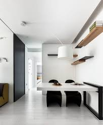 small apartment interior featuring stylish and minimalist idea