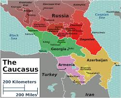 Map Of Germany And Surrounding Countries by Caucasus Regions Map Caucasus Pinterest Armenia Azerbaijan