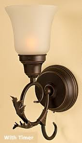 Wireless Wall Sconce Check Out The Deal On Rubbed Bronze Battery Wall Sconce With