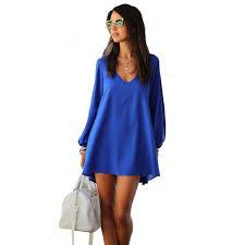 women office work wear loose dress xxl jupe chiffon casual dresses