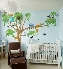 Nursery Tree Wall Decal Pop Decors Big Nursery Tree Wall Decal Reviews Wayfair