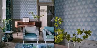 Interior Design Living Room Wallpaper Designers Guild