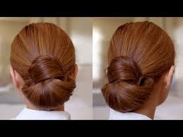 hair buns for hair hair tutorial easy elegance hair bun