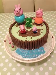 peppa pig birthday cake buttercream peppa pig birthday cake
