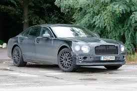 bentley 2018 new 2018 bentley flying spur spied for the first time road and