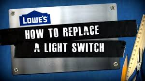 how to replace a light switch with a dimmer how to replace a light switch youtube