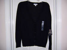 womens black cardigan sweater st s bay petites cardigan sweaters for ebay