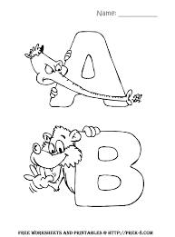 preschool back to activities free alphabet zoo animals