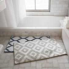 geo pattern bath mat simons maisonsimons decor bathroom