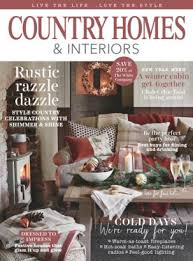 country homes and interiors magazine subscription country homes interiors magazine january 2016 issue get