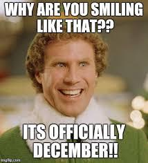 December Meme - buddy the elf meme imgflip