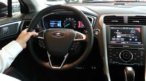 ford fusion 2017 interior 2013 ford fusion interior u0026 technology youtube