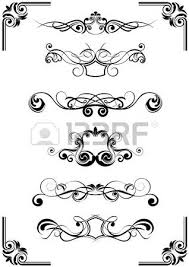 floral vector ornaments royalty free cliparts vectors and stock