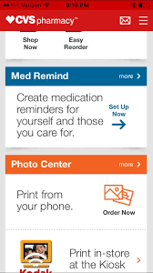 cvs pharmacy app for android cvs app delivers basic pharmacy services for your patients