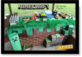minecraft birthday party ideas 25 minecraft birthday party ideas burnt apple