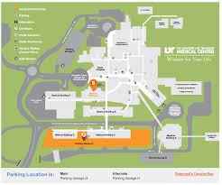 University Of Tennessee Parking Map by Directions And Parking Ut Medical Center