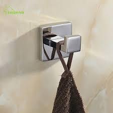 modern sus304 square base bathroom accessories polished chrome