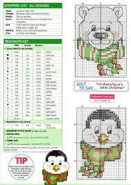 245 best cross stitch penguins images on pinterest embroidery