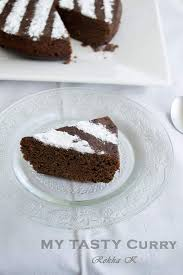 eggless chocolate cake recipe with flax seeds my tasty curry