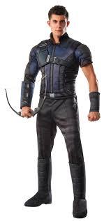 costumes for men marvel s captain america civil war deluxe chest hawkeye