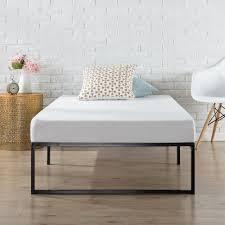 Heavy Duty Platform Bed Frames Foldable Bed Frames U0026 Box Springs Bedroom Furniture The Home Depot