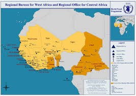 Map Of West Africa by Wfp Regional Bureau For West Africa And Regional Office For