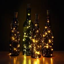 halloween wedding centerpiece ideas amazon com jojoo set of 6 warm white wine bottle cork lights