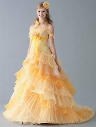 yellow wedding dress gold yellow and orange wedding dresses