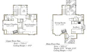 fairytale cottage house plans french main level floor plan