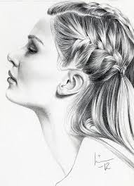 pictures pencil sketch face side drawing art gallery