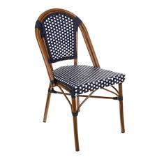 Navy Bistro Chairs Original Navy White Café Bistro Chair Bistro Chairs Tiab Inc