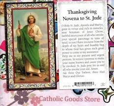st jude thanksgiving novena to jude gold trim