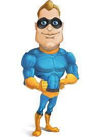 superhero cartoon characters vector graphicmama