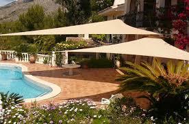 Swimming Pool Canopy by Amazon Com Didaoffle 20 U0027x20 U0027x20 U0027 Triangle Pool Shade Backyard